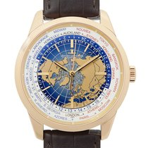 Jaeger-LeCoultre New  Geophysic Rose Gold Blue Automatic Q8102520