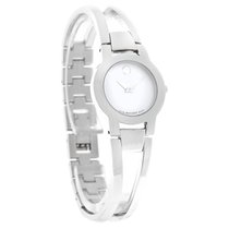 Movado Amorosa Ladies MOP Bangle Bracelet Swiss Quartz Watch...