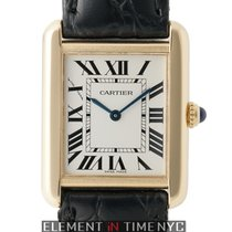 Cartier Tank Collection Tank Solo 24mm Midsize 18k Yellow Gold...