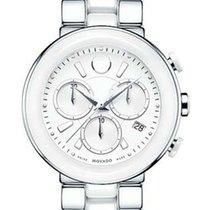 Movado Cerena Ladies Chronograph - White Dial - Steel &...