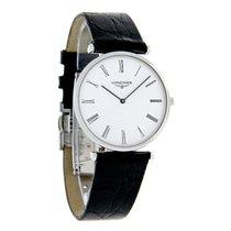 Longines Les Grande Classique Mens Leather Band Watch L4.709.4...