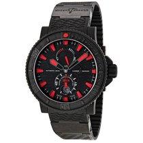 Ulysse Nardin Maxi Marine Diver Black Sea Automatic Mens Watch...