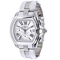 Cartier Roadster W62019X6 Chronograph Men's Watch in...
