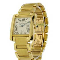 Cartier Tank Francaise Large Size Yellow Gold