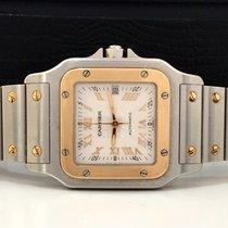 Cartier Santos Galbee Ouro/aço Large Automatico