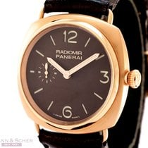 Panerai Radiomir PAM336 18k Rose Gold Box Papers Bj-2011