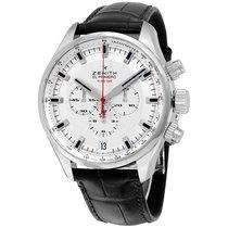 Zenith El Primero Sport Chronograph Automatic Silver Dial...