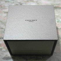 Chaumet vintage watch box grey newoldstock