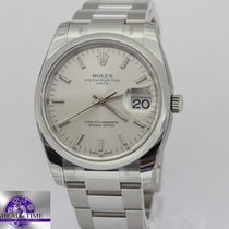 Rolex Watches: 115200 sio Date 34mm Domed Bezel - Oyster Bra