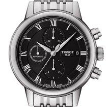 Tissot Carson Automatic Chronograph Gent Black Dial 42,3mm T