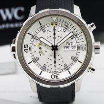 IWC Aquatimer Chronograph SS / Rubber Silver Dial