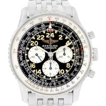 Breitling Navitimer Cosmonaute Black Dial Chronograph Watch...