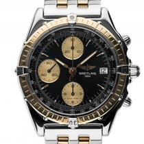 Breitling Chronomat Chronograph Stahl Gelbgold Automatik...