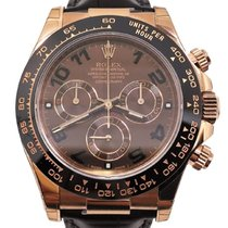 Rolex Cosmograph Daytona Everose Leather 116515 LN