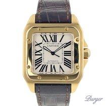 Cartier Santos 100 Yellow Gold XL