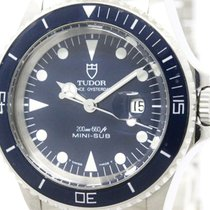 Tudor Polished  Rolex Mini-sub Steel Automatic Watch 73090...
