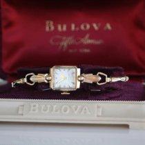 Bulova Ladies 10kGold plated