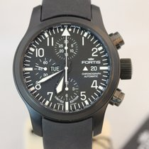 Fortis B-42 Flieger Black Chronograph Limited Edition NEU