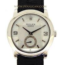 Rolex platinum Cellini