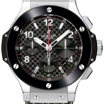 Hublot Big Bang 342.sb.131.rx Carbon Fiber Steel 41mm Midsize...
