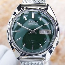 Seiko Actus Mens Vintage Automatic Watch Ref 7005 7031 Green...