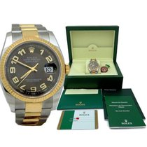Rolex Mens Rolex Oyster Perpetual Datejust Light Chocolate...