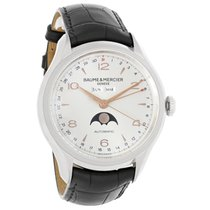 Baume & Mercier Clifton Moonphase Mens Swiss Automatic...