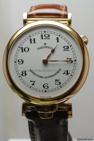 Kelek THEOREIN KELEK 18KT GOLD AUTOMATIC REPEATER HOUR AND FIVE MINUTES