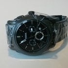 Fossil Machine Chronograph Stainless Steel Watch Black