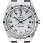 Rolex Air King 14010 Engineturned Bezel  Roman Numerals Watch