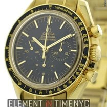 Omega Speedmaster Moon Watch 18k Yellow Gold Ref. 3195.50.00