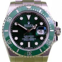 Rolex Submariner 116610LV Men's 40mm Hulk Green Ceramic...