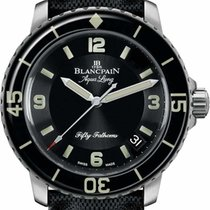 Blancpain New Fifty Fathoms 5015-1130-52B (List Price:HK$121,000)