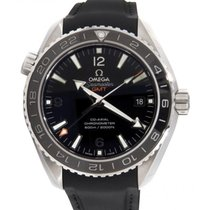 Omega 232.32.44.22.01.001 Planet Ocean 600M Co-Axial GMT...