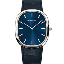 Patek Philippe 5738P Platinum Men Golden Ellipse [NEW]