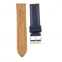 Breitling Blue Calf Leather Strap 105x