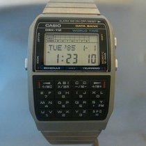 Casio vintage quartz lcd data bank wold time ref DBX-112...