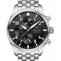 IWC Classic Pilot's Automatic Chronograph in Steel