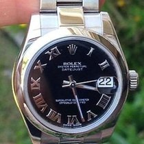 Rolex Midsize Mens Or Ladies 31mm Datejust Stainless Steel...