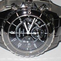 Chanel J12 Automatic Chronograph Black Ceramic