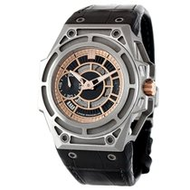 Linde Werdelin Spidolite II Titanium Black and Rose Gold Dia