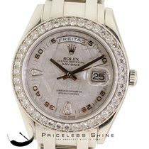 Rolex Masterpiece 18946 Platinum 39mm Meteorite Diamond Bezel...