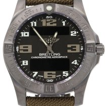 Breitling Aerospace Evo Night Mission Black Arabic Titanium...