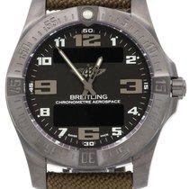 Breitling Aerospace Evo Night Mission Black Arabic Titanium...