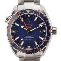 Omega Seamaster Planet Ocean Automatic Co-Axial 24 HS GMT Date...