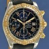 Breitling Chronomat Evolution Pink Gold/Steel/Diamonds ...