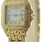 Cartier Ladies Panthere 18k Yellow Gold & Diamonds Watch...