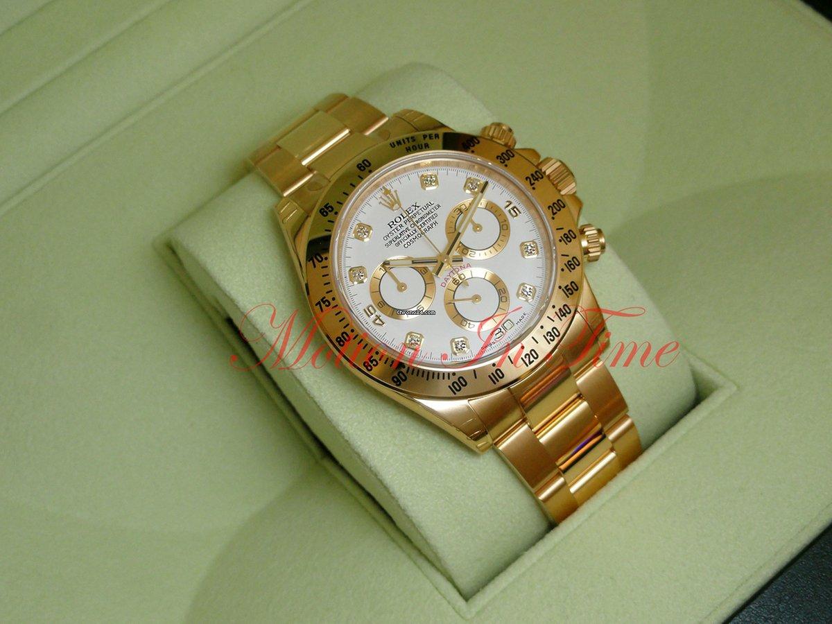 Rolex Daytona Gold White Face