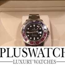 Rolex GMT MASTER II 116719 white gold Oyster 40 mm ORO BIANCO