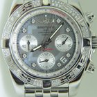 Breitling Chronomat 41mm,Factory setted diamonds,Mop dial